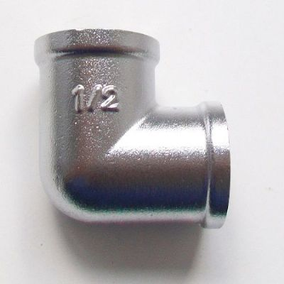 "1/2"" x 1/2"" Chrome Female to Female Elbow"